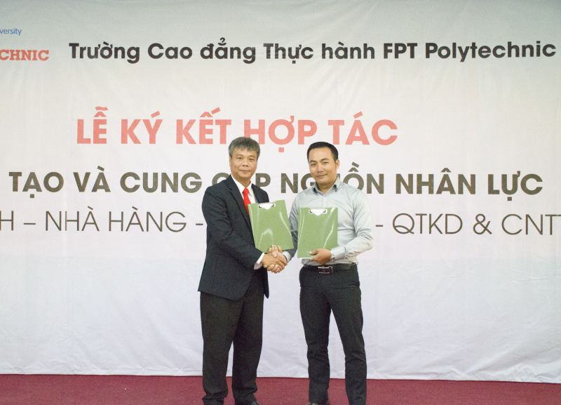Lễ Ký Kết Hợp Tác Đào Tạo Và Cung Cấp Nguồn Nhân Lực FPT
