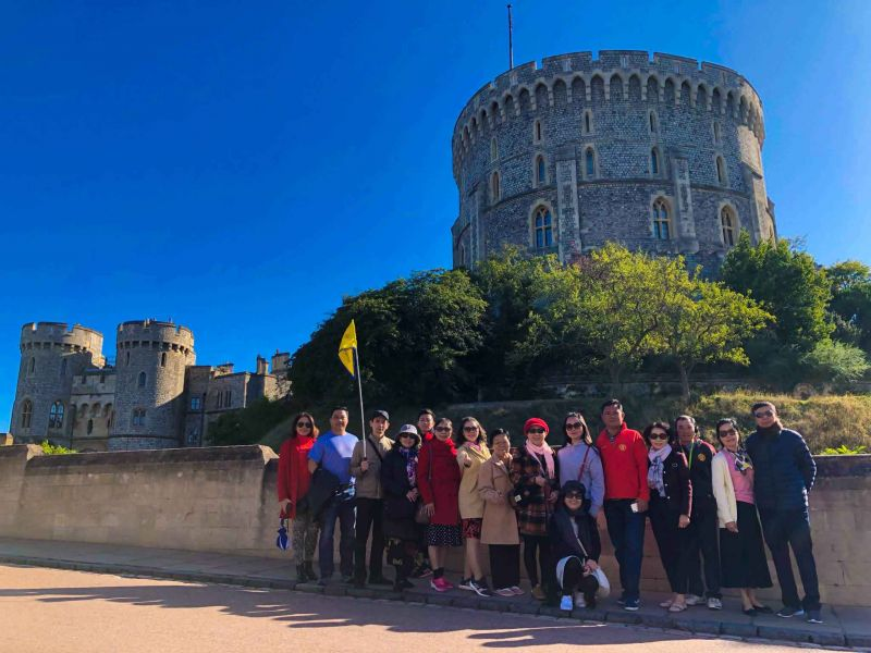 Hình khách du lịch Anh