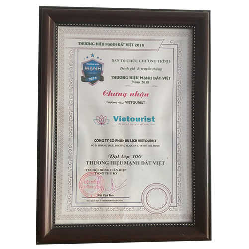 Giải thưởng Vietourist 6