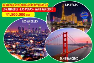 Hành Trình Bờ Tây Hoa Kỳ Mới - Khám Phá Thêm San Francisco Chỉ Với 1,9 Triệu