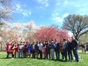 Đoàn Du Khách Du Lịch Mỹ Bờ Đông Tháng 3/2017