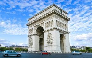 Tìm Hiểu Về Khải Hoàn Môn - Thủ Đô Paris Nước Pháp