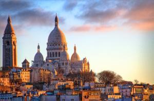 Vườn Cung Thánh Đường Sacré-Cœur - Công Trình Nổi Tiếng Ở Pháp
