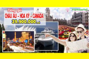Chương Trình Du Lịch Châu Âu - Hoa Kỳ - Canada - Đồng Giá: 39.900.000 VND