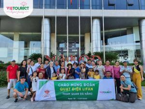 VieTourist Tổ Chức Tour Đoàn Riêng Du Lịch Đà Nẵng Đoàn Quạt Điện Lifan