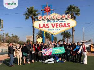 Hình Khách Hàng Tham Gia Tour Mỹ Cùng VieTourist