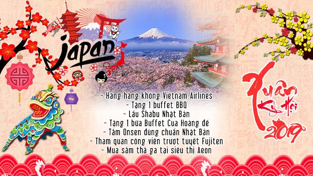 Tour Du Lịch Nhật Bản Tết Nguyên Đán 2019 Đón Xuân Rực Rỡ Trên Cung Đường Vàng