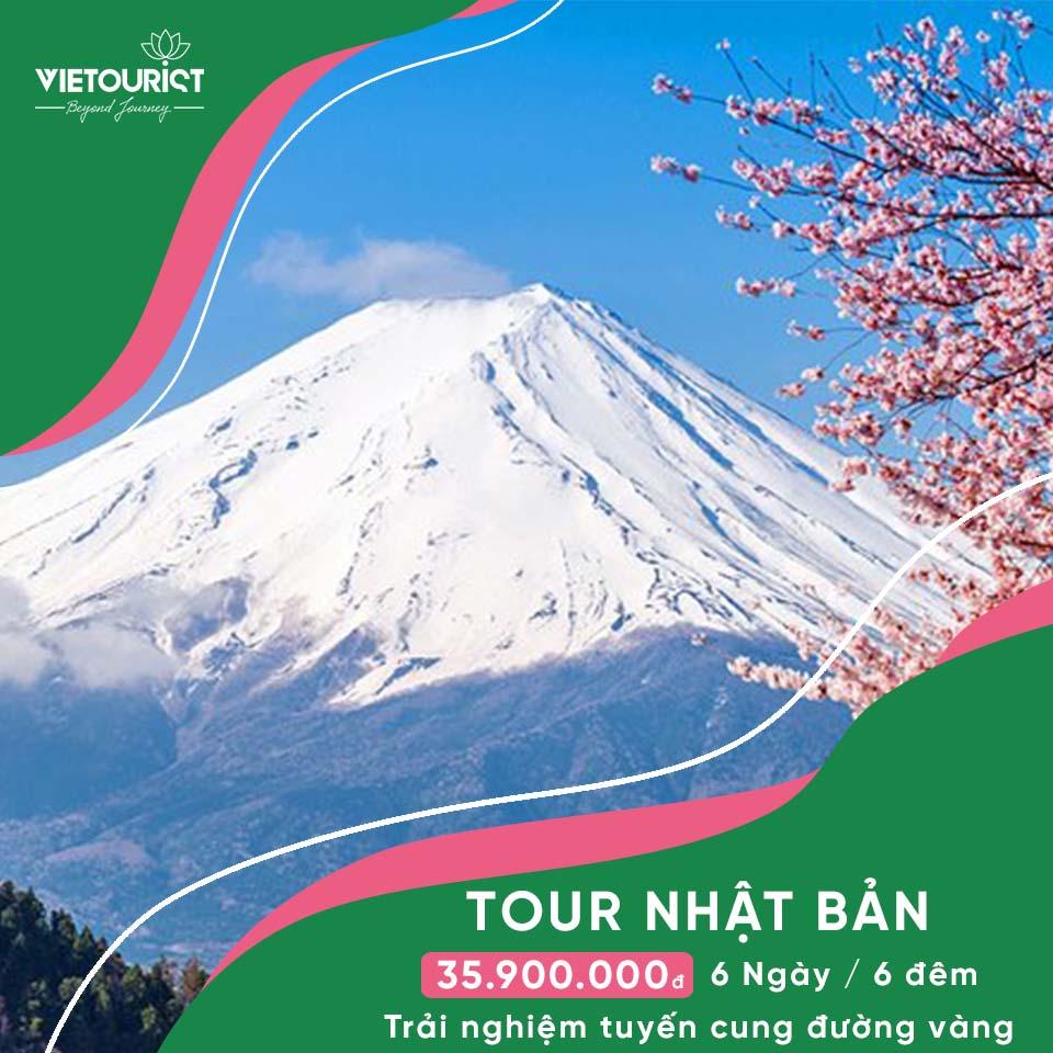 Tour Du Lịch Nhật Bản Mùa Hoa Anh Đào: Tokyo - Yamanashi - Phú Sĩ - Nagoya - Osaka - Kobe
