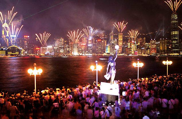 Du lịch Hong Kong - Disneyland - Đại lộ ngôi sao