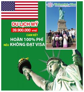 Tour Du Lịch Bờ Tây Mỹ - Thăm Thân: Los Angeles - Las Vegas (ĐB: Hoàn Phí LSQ Nếu Không Đạt Visa)