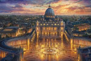 Tour Du Lịch Hành Hương Vatican 2019 -  Kết Hợp Du Lịch Pháp - Thụy Sĩ - Ý