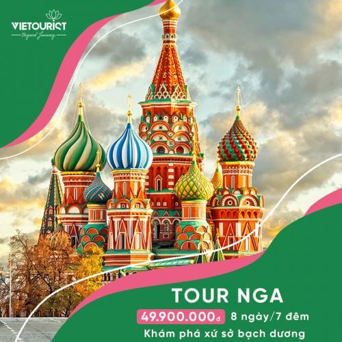 Tour Du Lịch Nga 8 Ngày 7 Đêm: Matxcova – St.Petersburg