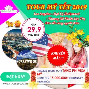 Tour Thăm Thân Nhân Giá Rẻ Tết 2019: Los Angeles - Little Sai Gon - Hollywood Boulevard