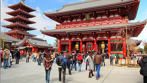 Đền Asakusa Nhật Bản