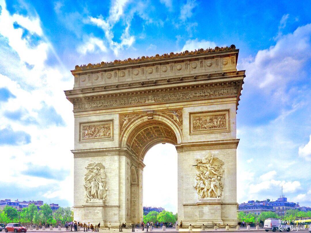 Arc de Triomphe nước Pháp