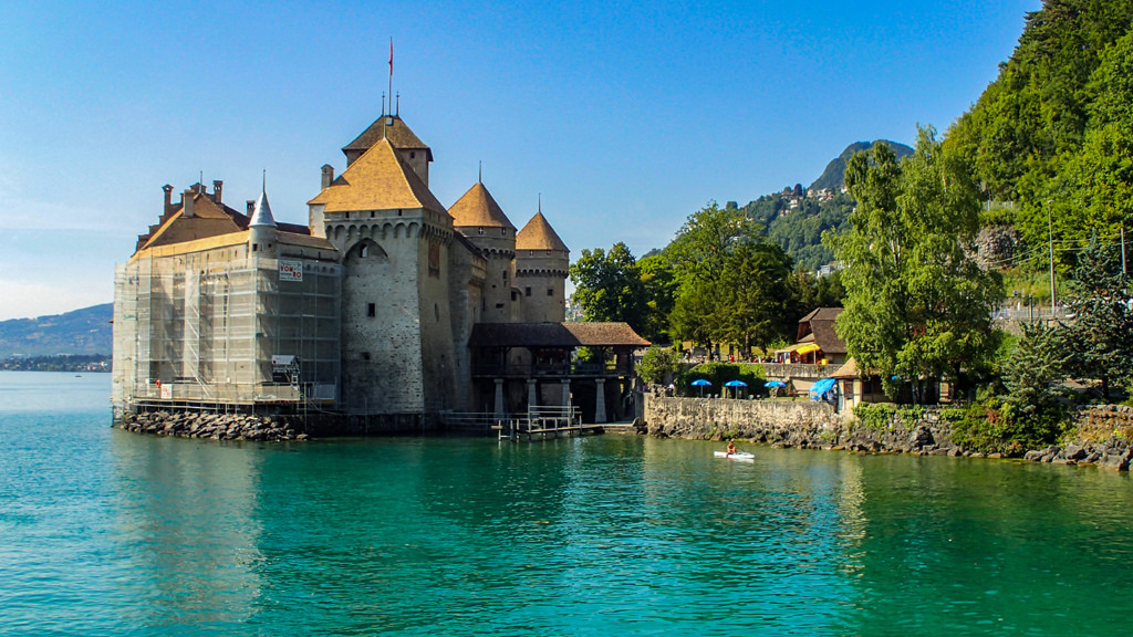 Chillon geneva switzerland