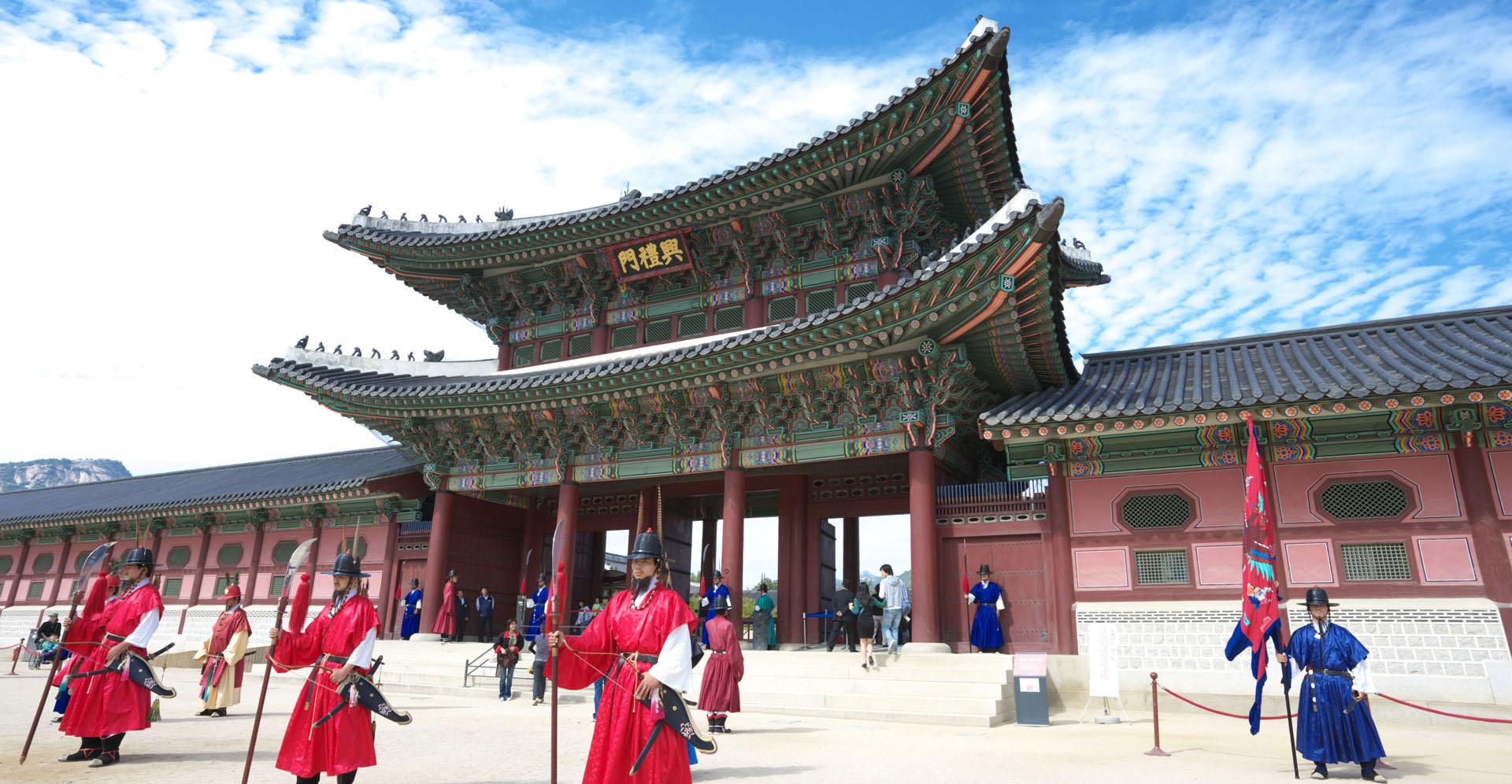 Cung điện Kyeongbok - du lịch Hàn Quốc
