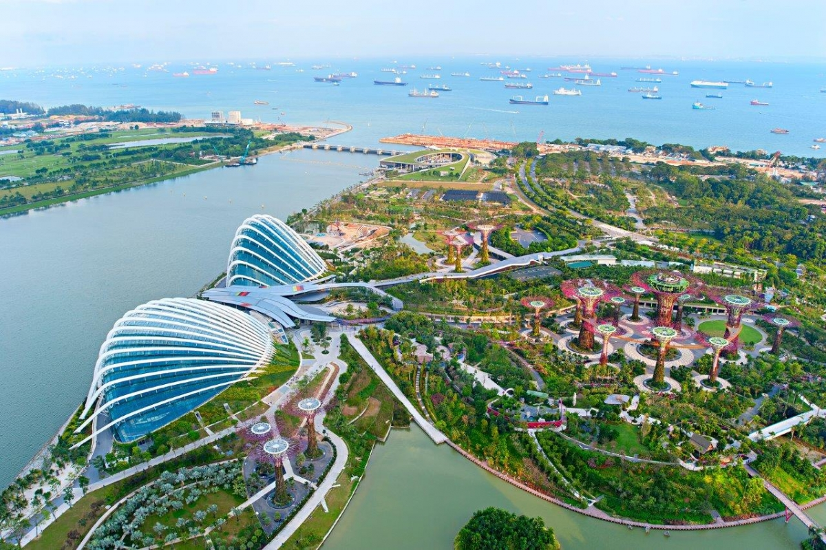 Garden by the Bay - du lịch Singapore