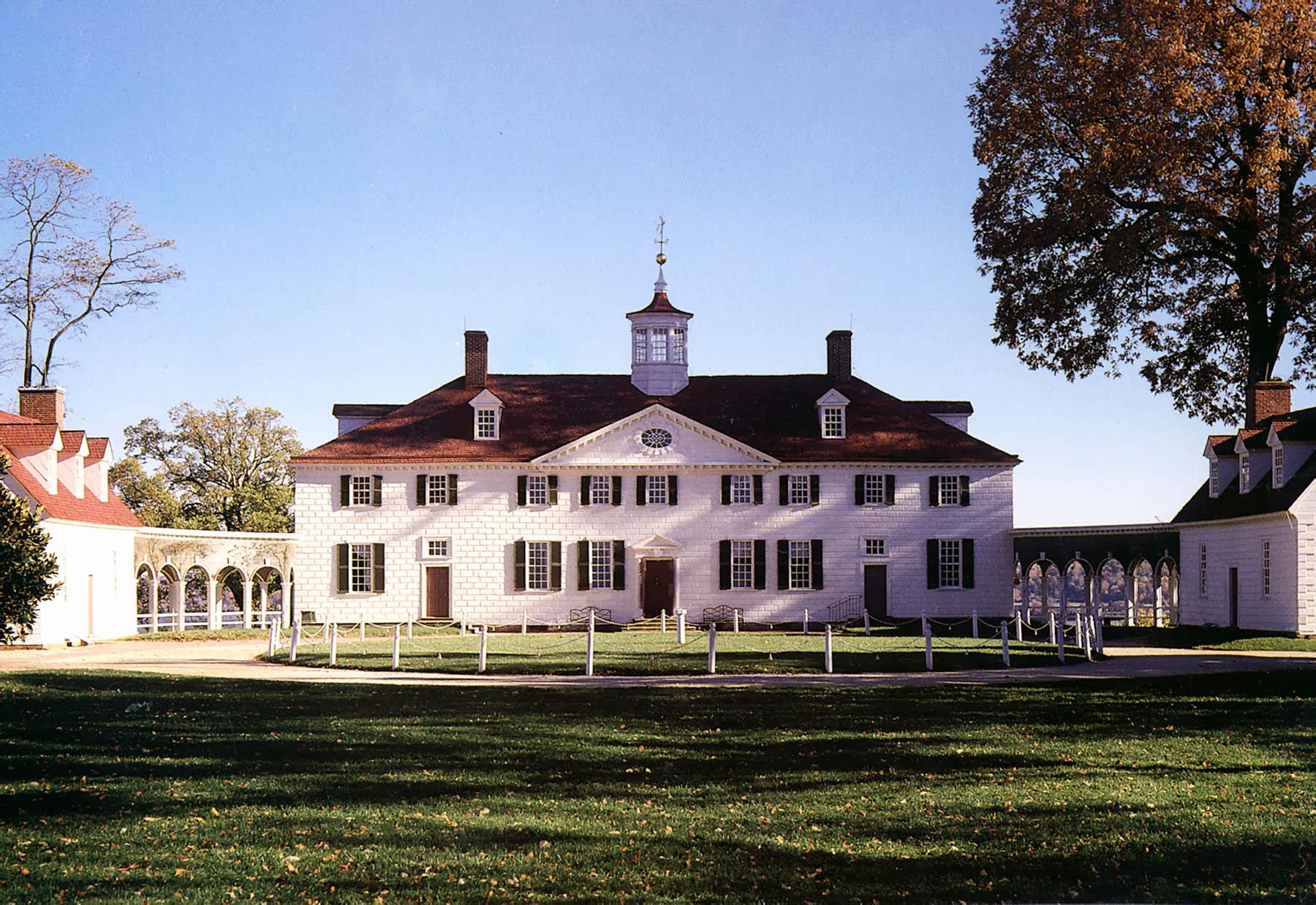 George Washington's Mount Vernon Virginia