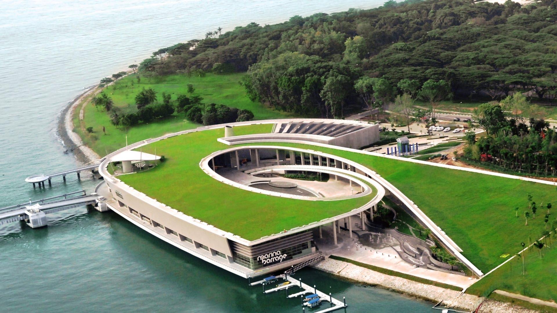 Đập nước Marina Barage