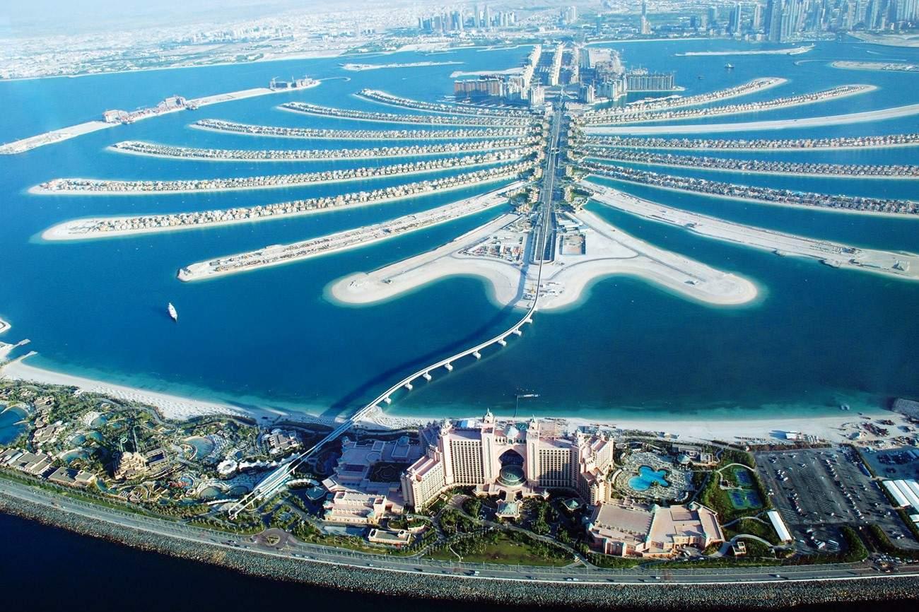 Palm Jumeirah Dubai monorail