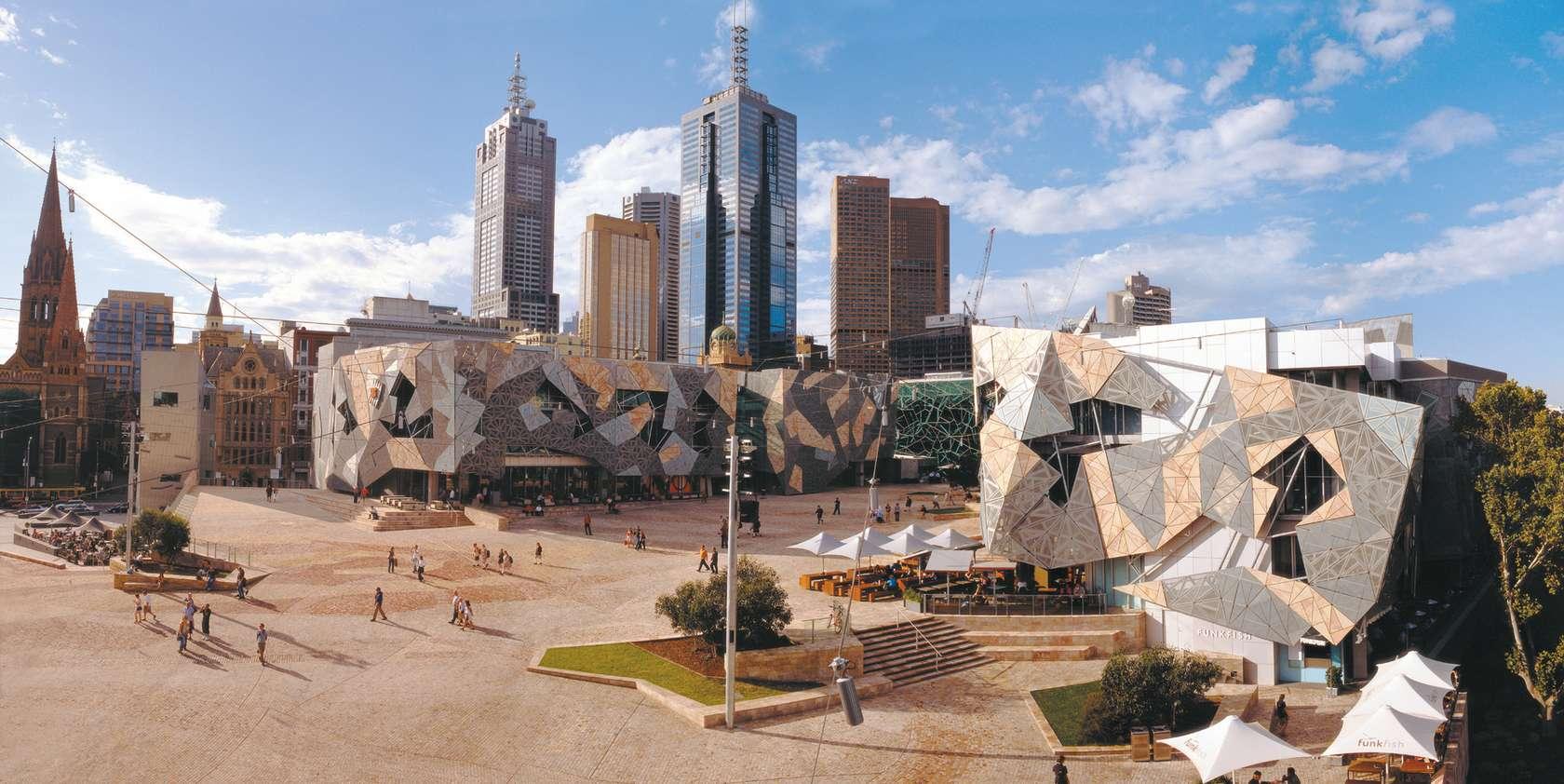 Quảng trường liên bang Federation Square Úc