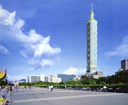 Tháp Đài Bắc 101 – cao 101 tầng.