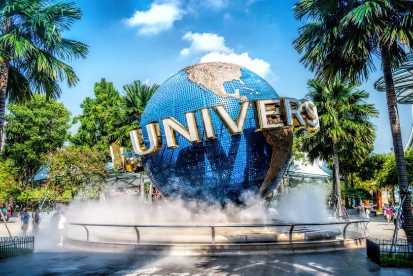 Universal Studios với nhiều trò chơi thú vị