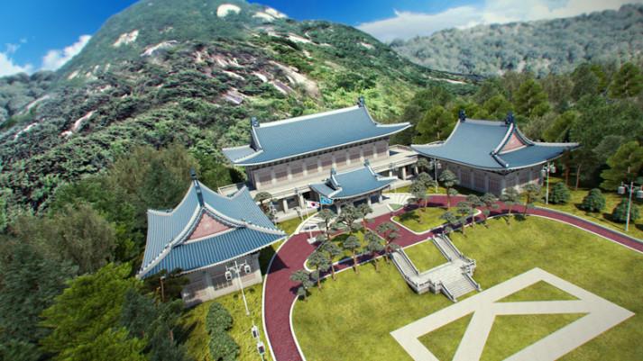 Blue house - du lịch Hàn Quốc