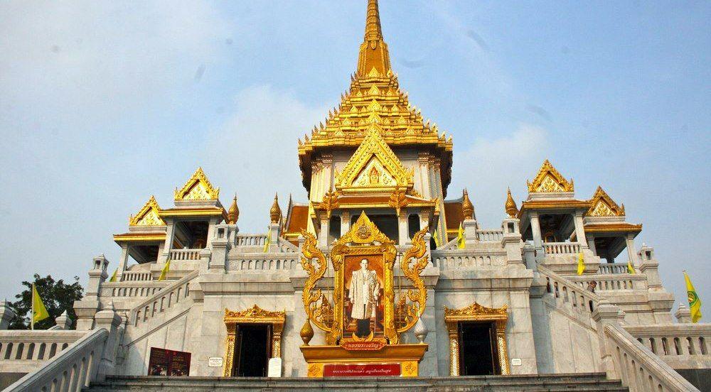 chùa Phật Vàng Wat Tri Mit