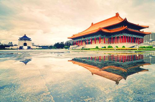 đài tưởng niệm Trung Chánh - Du lịch Đài Loan