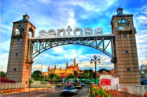 Đảo Sentosa - Du lịch Singapore - Vietourist
