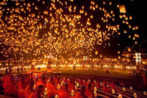 Du lịch Thái Lan mùa mát mẻ - Với những lễ hội truyền thống nổi tiếng