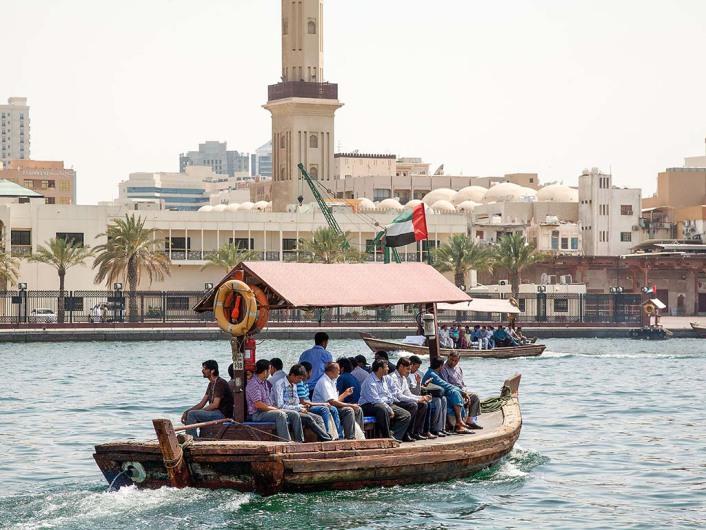 Abra Water Taxi Dubai