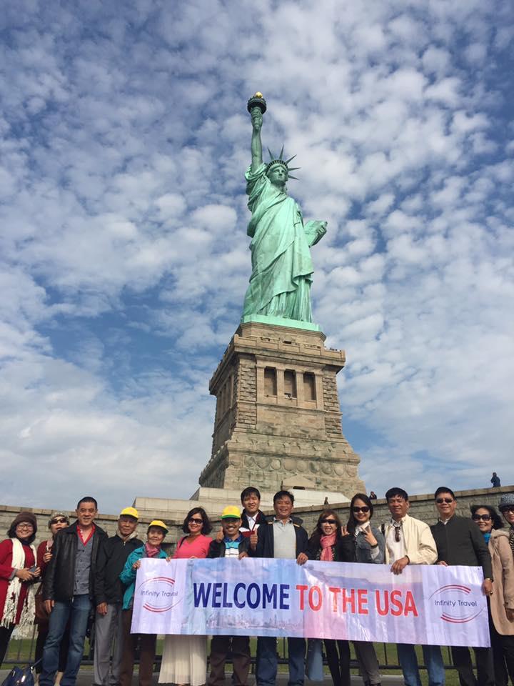 Du lịch Mỹ - Tượng nữ thần tự do