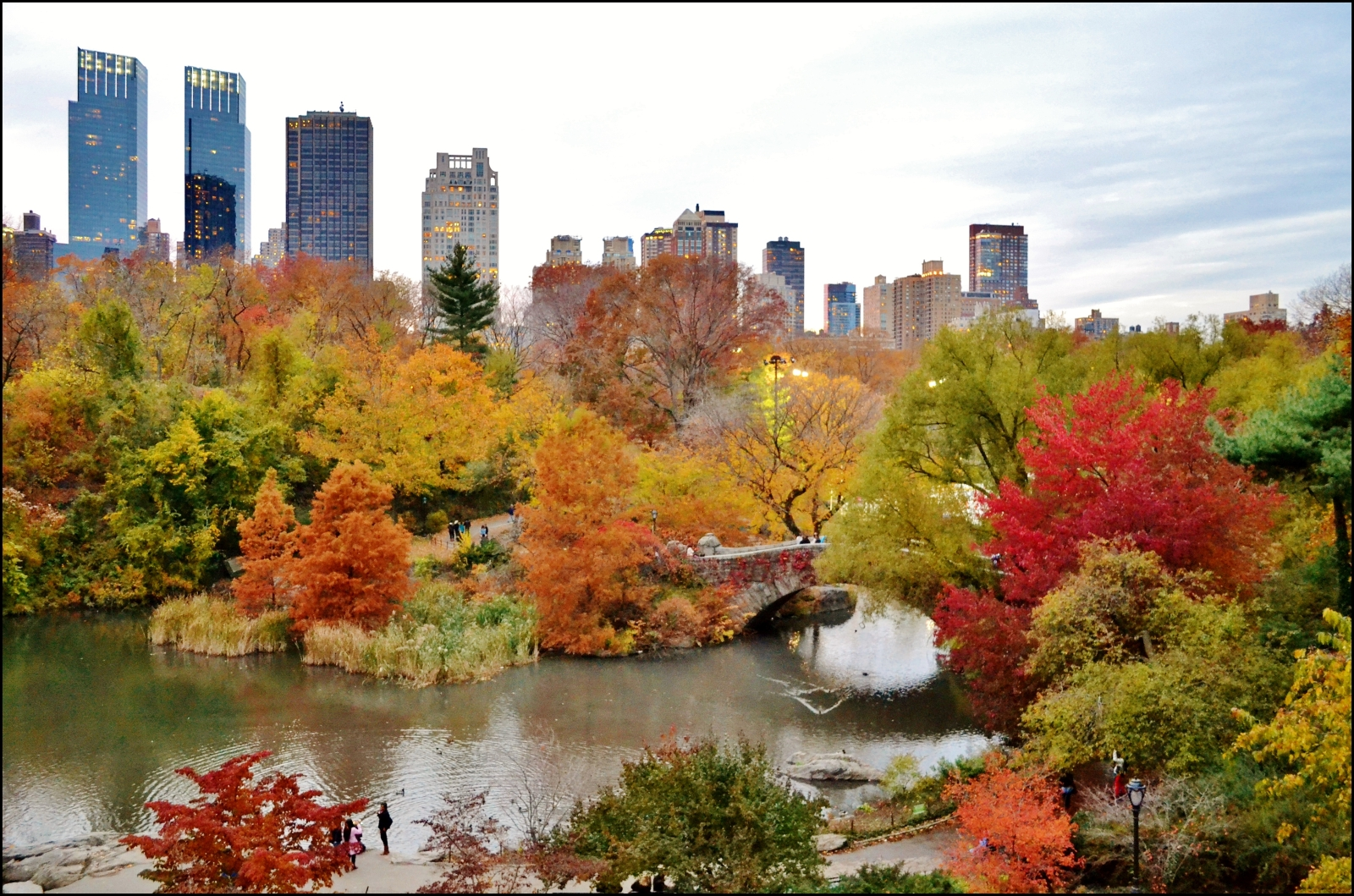 Du lịch New York vào mùa thu