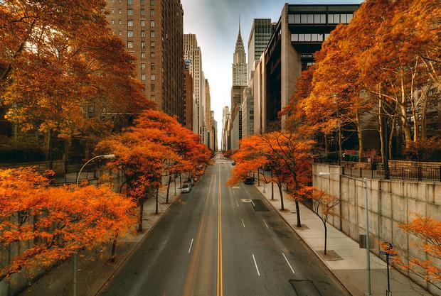 du lịch new york mùa thu