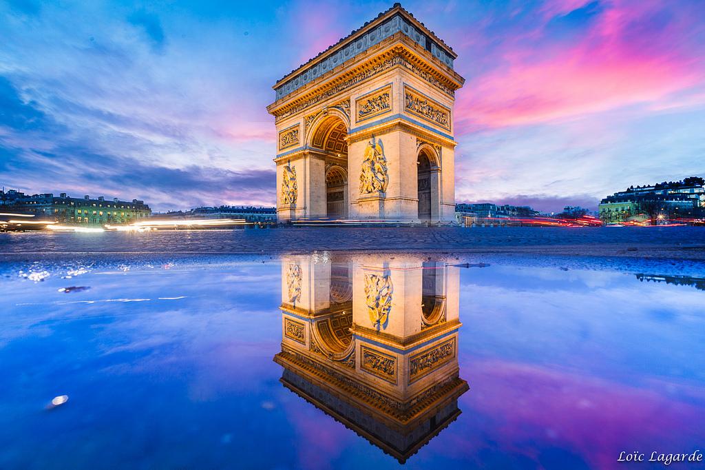 Du lịch Pháp - Khải hoàn môn