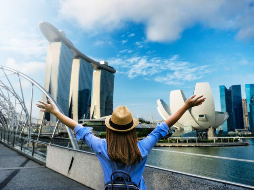 Thời tiết Singapore rất thuận lợi để tham quan