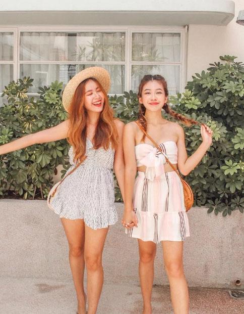 Đi Singapore nên ưu tiên mặc những trang phục thoải mái, mỏng, nhẹ