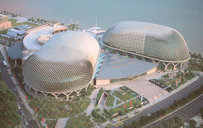 Nhà hát Esplanade - du lịch Singapore