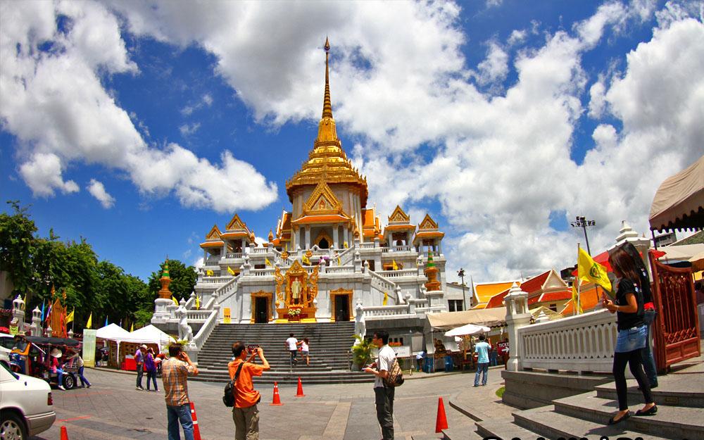 Chùa Thái Lan - Chùa phật vàng