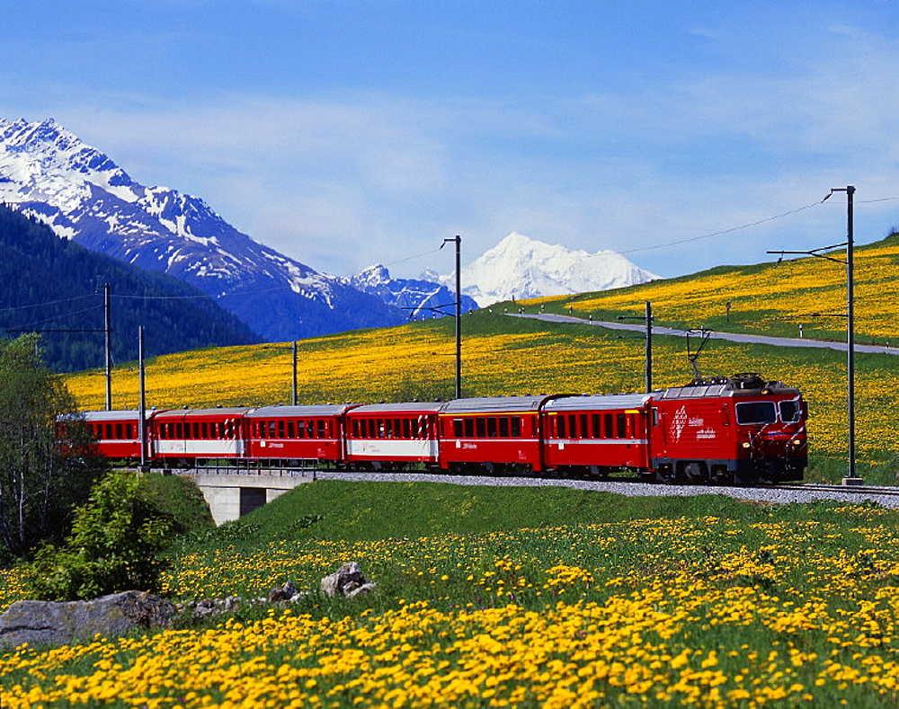 Du lịch Thụy Sĩ mùa xuân