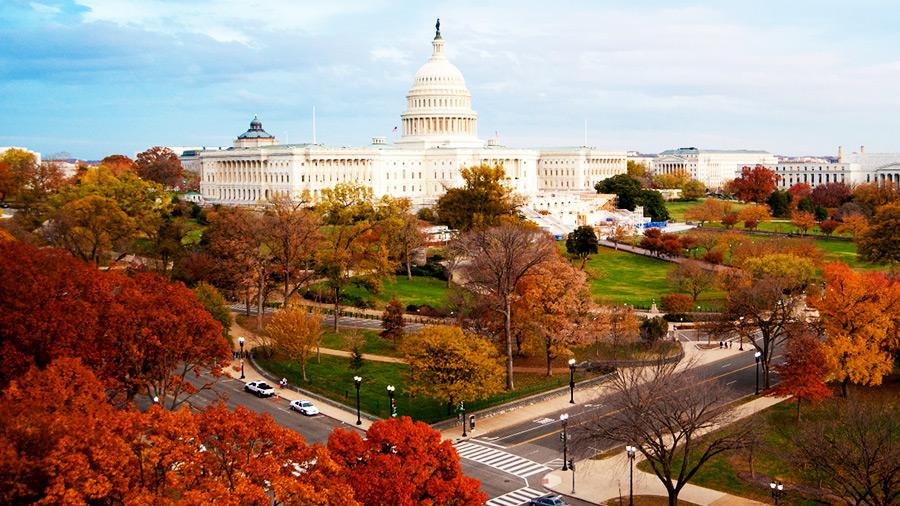 Du lịch Washington vào mùa thu