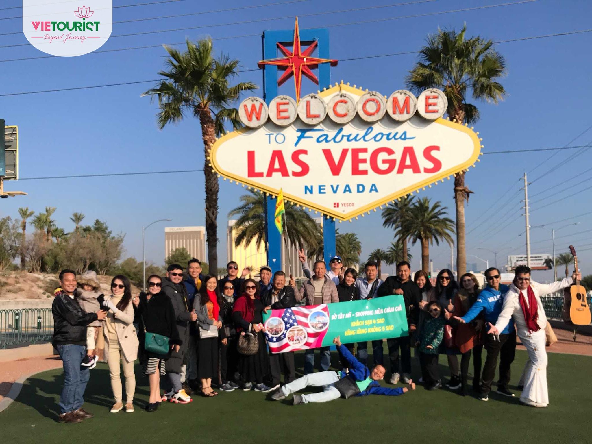 Hình khách tham gia tour Mỹ cùng Vietourist