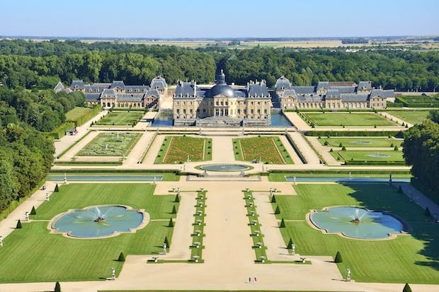 Lâu đài Vaux le Vicomte