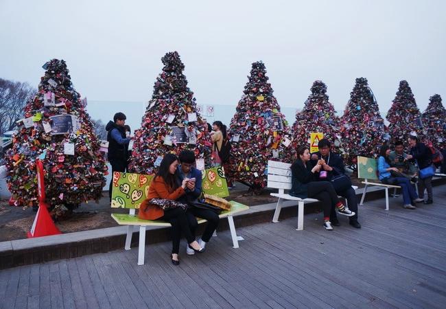 Núi Nam Sam - Du lịch Hàn Quốc