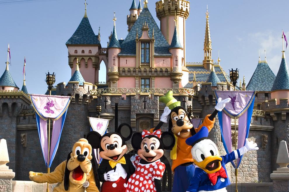 Thành phố Los angeles các địa điểm yêu thích - Disneyland