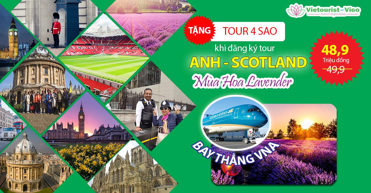 Tour du lịch Anh - Scotland khởi hành từ Sài Gòn - Vietourist Vigo