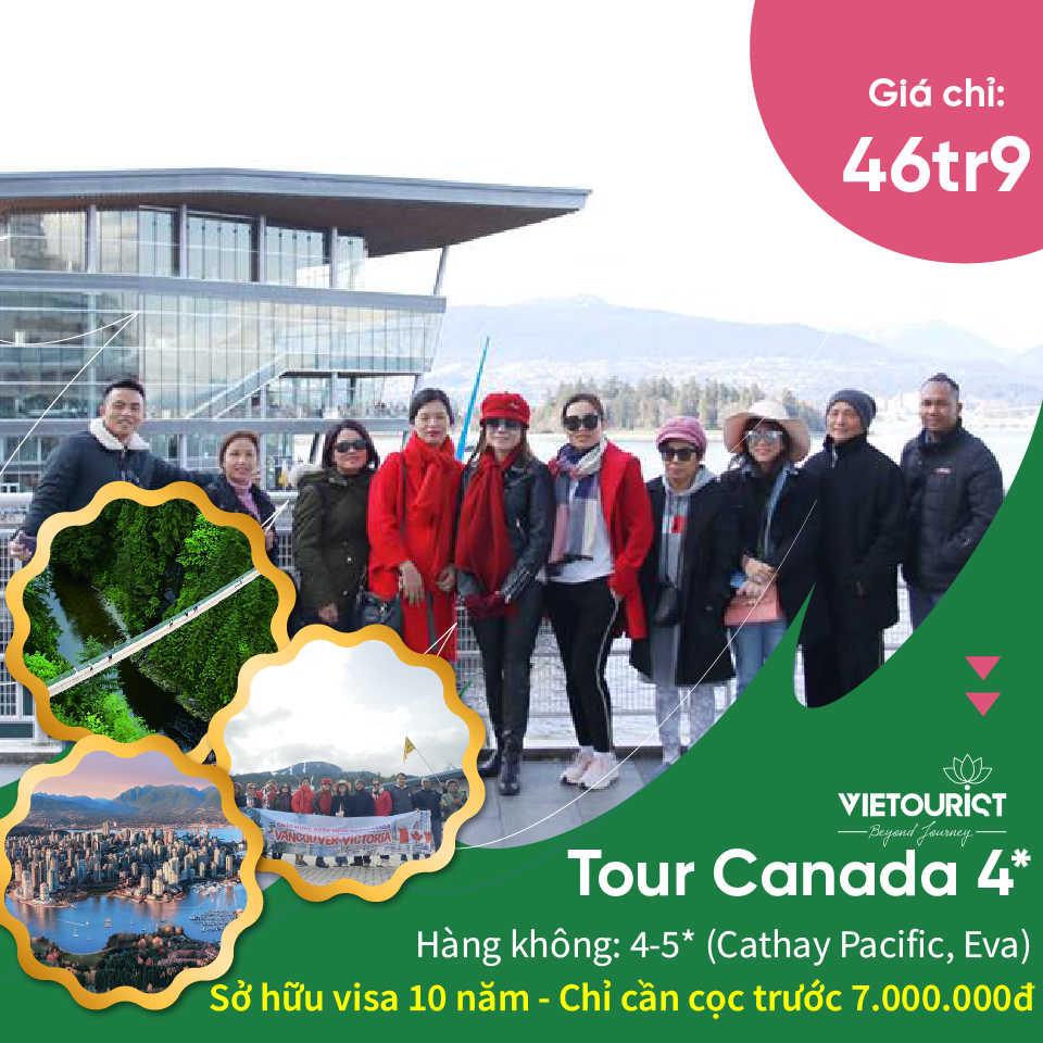 Tour du lịch bờ tây Canada
